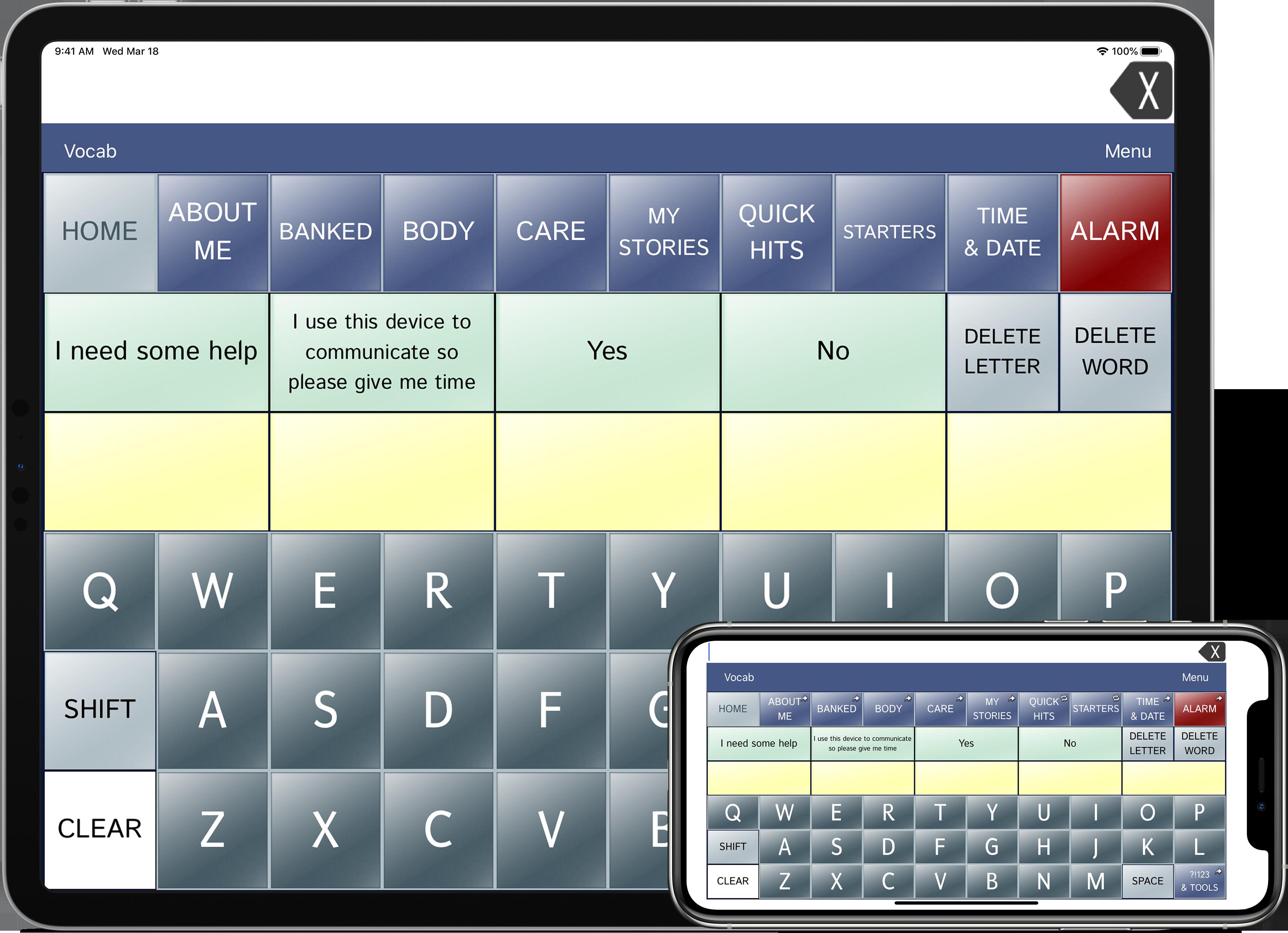 ipad and iphone dialogue